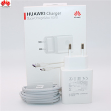 Huawei 40W Charger Original 10V4A Supercharger EU Charge adapter 5A USB type c cable for nova 5 5t 5 pro mate 30 pro p20 p30 pro