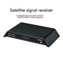 GTMedia V8 Pro2 TV Satellite Signal Receiver DVB S2/S2X DVBT2/ISDBT Cable Upgrade Version Television Set Top