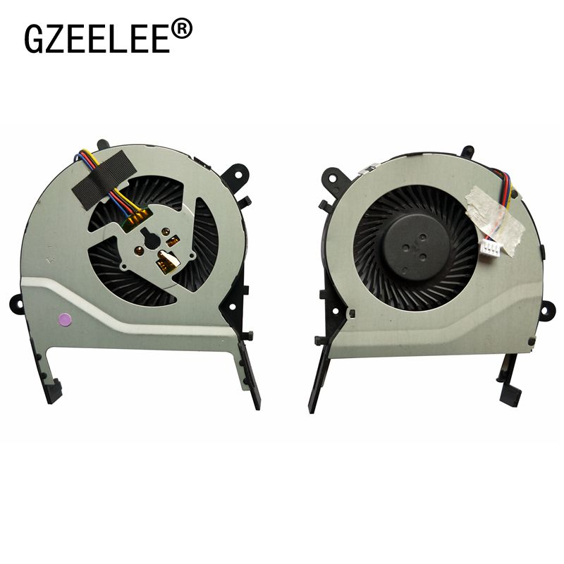 GZEELE New Cpu Cooling Fan For ASUS X455LD X455CC A455 A455L K455 X555 R455l X555LD W519L A555L Y583L K555 MF60070V1-C370-S9A