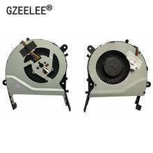 Gzeele novo ventilador de resfriamento cpu, para asus «x455cc a455 a455l k455 x555 r455l '/2/1/2/3/16-1/k555/MF60070V1-C370-S9A