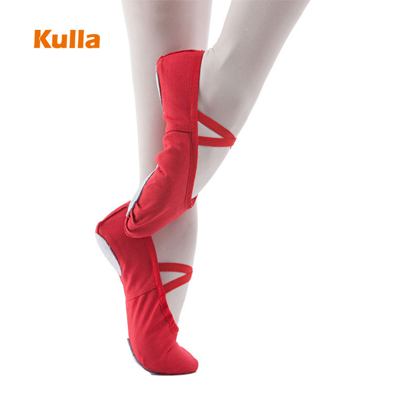 Kids Ballet Dance Shoes Girls Women Canvas Yoga Slippers Woman Gym Dancing Shoes Child Show Ballet Sneakers Multicolor Wholesale