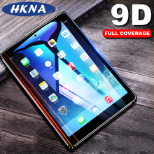Tempered Glass Film For Samsung Galaxy Tab A 10.5 2018 A 10.1 8.0 2019 9D Curved Edge Screen Protector For Galaxy Tab S4 S5e S6(China)