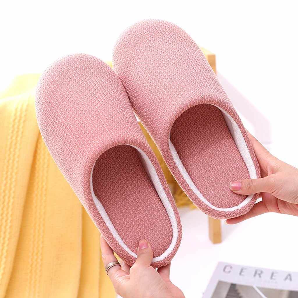 New Women Winter Slippers Shoes Soft Plush solid Non-Slip Floor Indoor home Shoes Slipper For House Home women slippers footwear