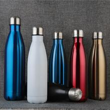 750ml Stainless Steel Thermos Bottle Double-Walled Vacuum Water Insulated Flasks Outdoor Bottles Cup termos