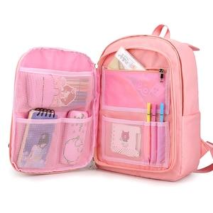 Women Fashion backpack Junior School Bag For Teenager Girls Kids Cute Backpack Laptop Backbag Waterproof Mochila Escolar 2020