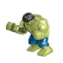 Avengers 4 Endgamer Action Figure Hulk Thanos Black Panther Hulk Iron Man Glove Blocks Compatible Marvel Toy thanos vs hulk