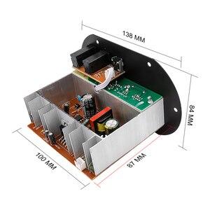 Image 2 - AOSHIKE Dual ไมโครโฟนบลูทูธเครื่องขยายเสียง 12V 24V 220V ซับวูฟเฟอร์เครื่องขยายเสียงสำหรับ 5 10 นิ้วซับวูฟเฟอร์ลำโพง DIY