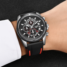 LIGE Watches Top Luxury Brand Unique Sports 9986