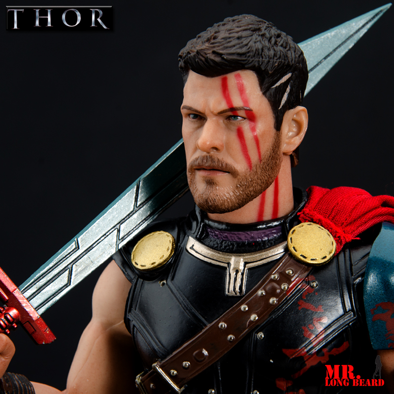 Marvel Comics Avengers Infinity War Thor Figure PVC 1/6 Scale Collectible Action Model Toy 32cm