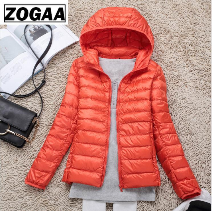 Women Winter Ultra Light White Duck Down Jacket Fashion Casual Women Outerwear Plus Size Waterproof Hooded Coat Parka