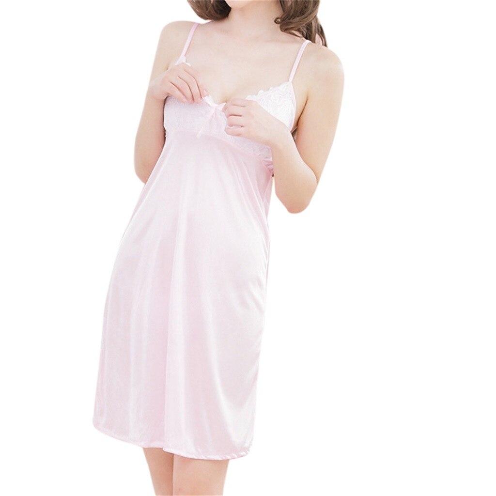 Сексуальное дамское нижнее белье, ночное белье для женщин, ночная сорочка с кружевным бантом, ночная сорочка, сексуальное нижнее белье