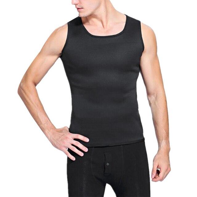 Slimming Belt Belly Men Slimming Vest Body Shaper Neoprene Aben Burning Shapewear Waist Sweat Corset Weight Dropshipping-Xxl 4