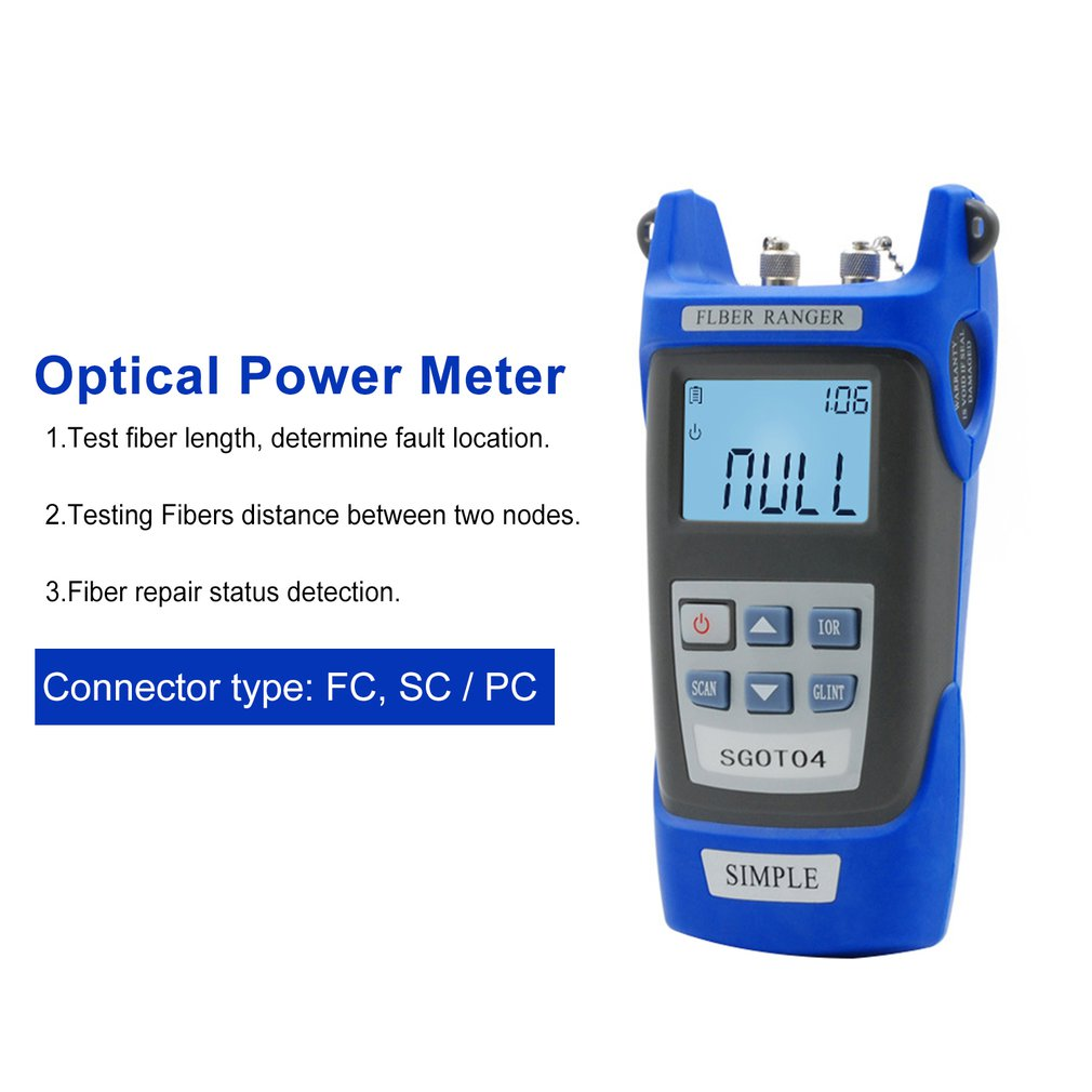 Handheld Visual Fault Locator and OTDR Optical Fiber Breakpoint Detector to Test Fault Location 1