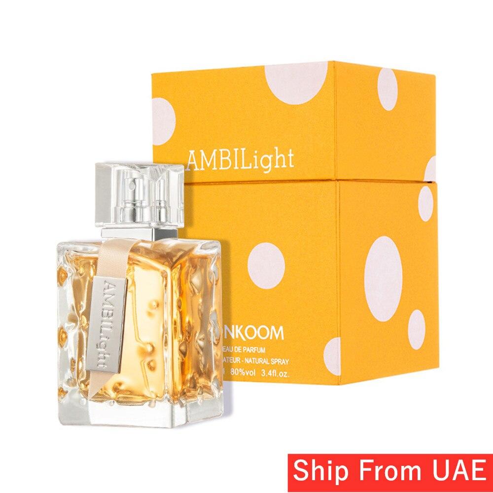 LONKOOM Perfume For Women Aromatic-Floral Long Lasting Fragrance Ambilight Women's Eau De Parfum Spray 100ml Free Shipping