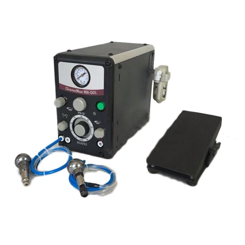 Двухголовое пневматическое гавировальное устройство ювелирные изделия микрокарвер и рулон Бисероплетение пневматический