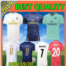 2019 NEW arrive Real Madrided Soccer Jersey 19 20 Luka Jovic MODRIC Hazard 2020 3rd ISCO ASENSIO Adult Football Jerseys Shirts(China)