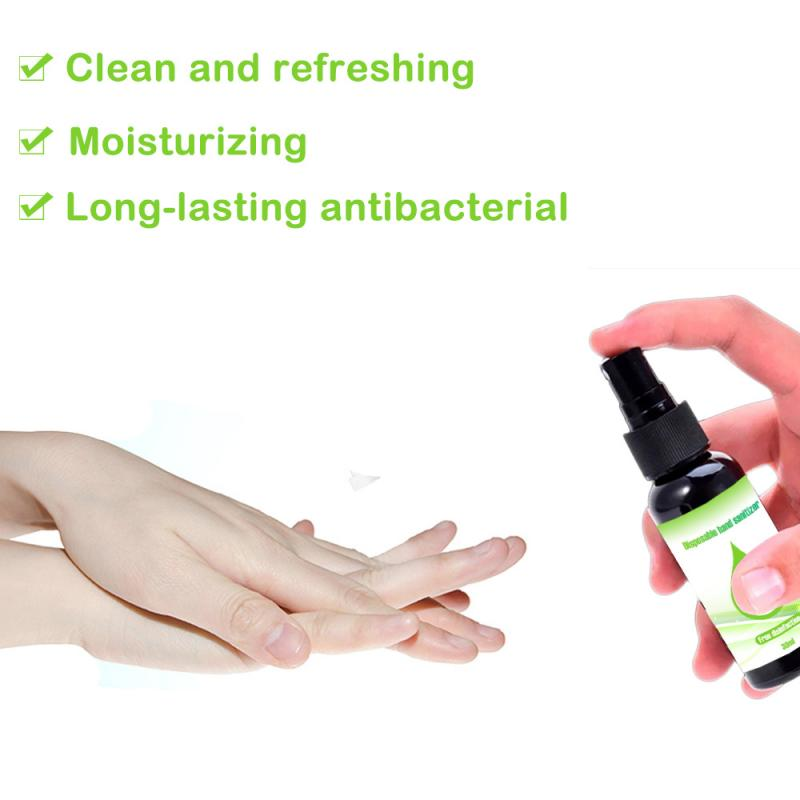 30ML Disposable Hand Samitize Portable  Skin Cleaning Care  Hand Sanitizer Hot Sale Quick-drying Hand Cleaning Hot Sale TSLM1