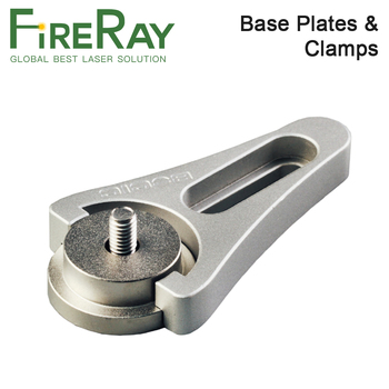 FireRay Base Plates and Clamps Post Holders Length 25mm