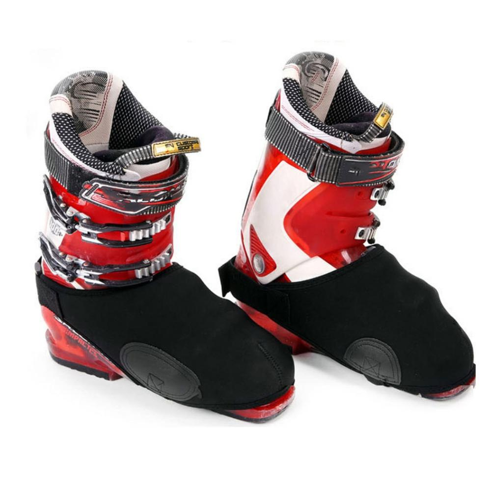 Winter Ski Snowboard Boot Covers Waterproof Warm Shoe Covers Snow Boots Toe Covers Protector Universal Toe Warmers QW