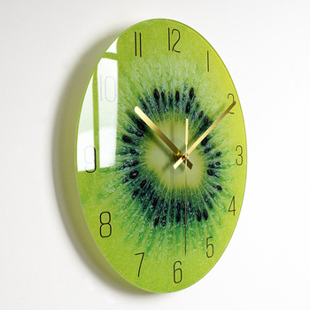 Bedroom Glass Wall Clock Nordic Large Modern Kitchen Wall Clocks Thick Watches Novelty Living Room Watch Home Decor 2020 II50BGZ