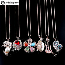 Wishspace new spring/summer 2020 alloy pendant long necklace