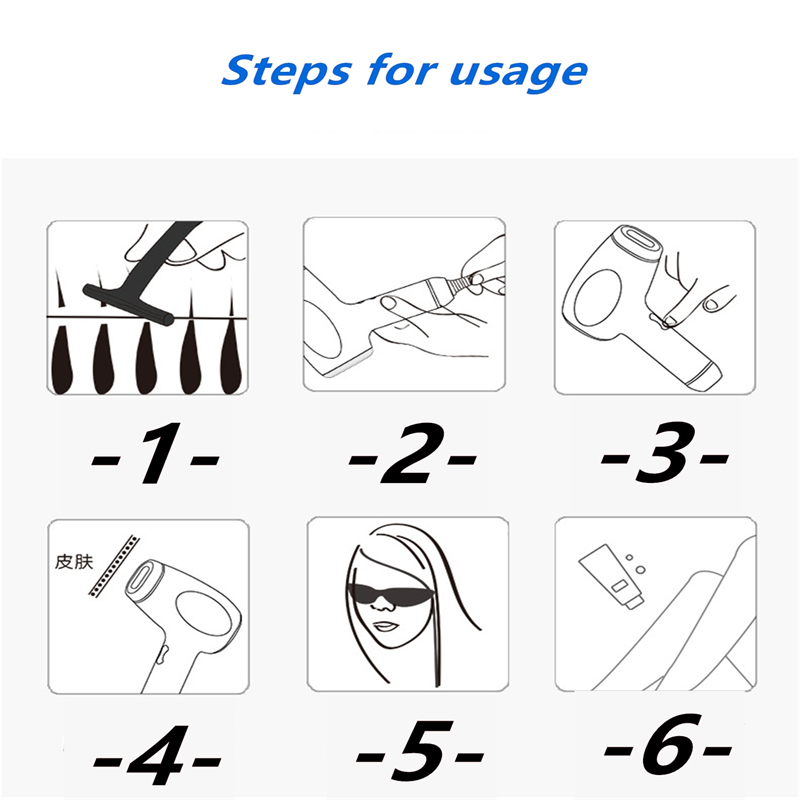 Depilador a laser profissional depilador permanente ipl