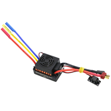 цена на Waterproof 60A Rc Brushless Esc Bec Car Parts Electric Speed Controller With 5.8V 3A Bec For 1/10 Rc Car Truck