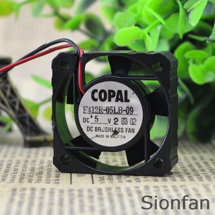 Для оригинального COPAL 4 см 4012 DC5V 0.09A F412R-05LB-09 ультра-тихий вентилятор охлаждения работает
