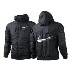 2021 new spring and autumn custom high street zipper jacket printed sports jacket male Harajuku windbreaker jacket