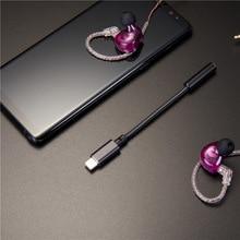 Type C to 3.5mm Decorder Amplifier 382khz 3.5mm type c Headphone Adapter Support 16-300 Ohm Headphone Hifi Decorder Adapter
