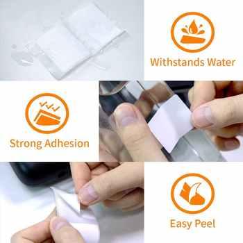 Phomemo M110 Multi-Purpose Thermal Self-Adhesive Round Label for Phomemo M110 Label Printer Printable Sticker Paper Roll