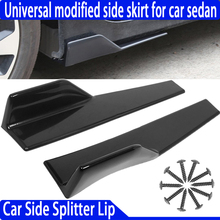 Diffusers Splitter Car-Bumper Side-Skirt Lip Body-Fits Universal Rear 450mm Bottom-Line-Extensions