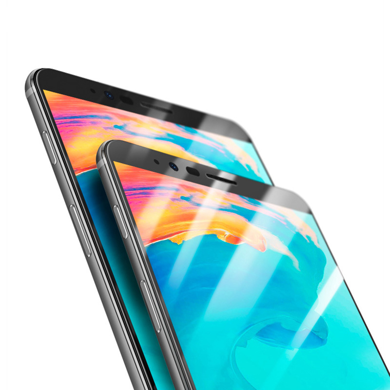 5D Curved Tempered Glass For OnePlus 5T 4D Full Glue Coverage Screen Protector For OnePlus Five A5100 1+5T Phone Glass