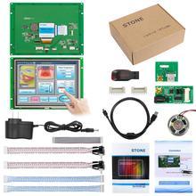 Бесплатная Доставка! 8-дюймовый встроенный сенсорный экран HMI для управления промышленное