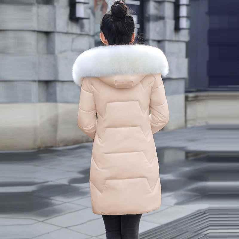 PLUS ขนาด 7XL ผู้หญิง Basic แจ็คเก็ต WARM Big ขนสัตว์ Hooded หญิงเสื้อฤดูใบไม้ร่วงฤดูหนาวเสื้อแจ็คเก็ตผู้หญิง Casaco Feminino Inveno 2020 ใหม่