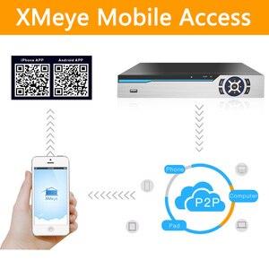 Image 4 - H.265 +/H.264 8ch AHD กล้องวงจรปิด DVR 4K 8Ch 4 K/5MP Hybrid Security DVR Recorder กล้อง onvif Coxial ควบคุม P2P XVI/AHD/TVI/CVI/CVBS/IP