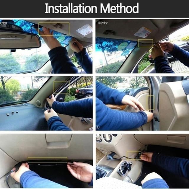 Car DVR Dash Cam Wifi 360 Degree Full HD 720P Auto Video Recorder Digital Registrar Camcorder with Mic Car Camera Dashcam DVRs