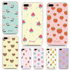 For Elephone P9000 P8000 C1 P9000 Lite S7 S2 M2 R9 Soft Tpu Silicone Case Cute fruit Cover Protective Coque Shell Phone Cases