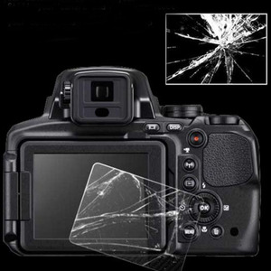Image 2 - 2xTempered Glass Protector Guard Cover for Canon EOS 60D 600D 550D M M2 Kiss X5 X4 Rebel T3i T2i Camera Screen Protective Film