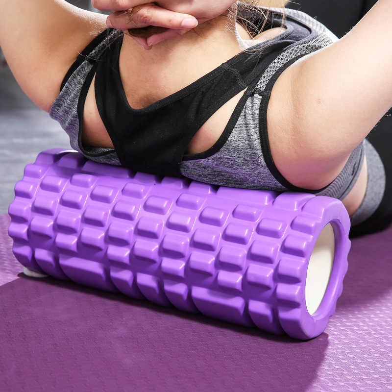 フィットネス泡ローラースパイクリラックス筋肉泡ローラー Langya ロッドリラックス筋肉軸