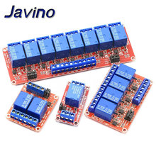 5V 1 2 4 8way 5V relay module with optocoupler isolation to support high and low level trigger development board kit for arduino цена 2017