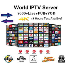 Premium HD World IPTV Spain M3U XXX Italy Dutch Drance Portugal Germany UK For Android TV Smart IPTV Subscription Xtream Codes(China)
