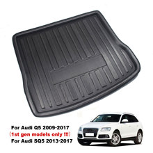 Floor-Carpet Trunk-Cover 2009 SQ5 Rear Matt-Mat for AUDI Boot-Tray Kick-Pad Cargo-Liner