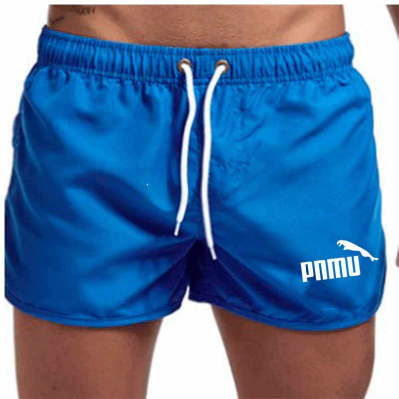 Short de bain pour hommes, tenue de bain homme avec poche à séchage rapide, tenue d'été, Boxer, vêtements pour la plage, nouvelle marque