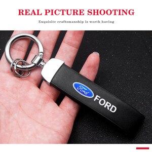 Стайлинг автомобиля, брелок, держатель, пряжка, орнамент, аксессуары для Ford Focus 2 3 4 5 Mk2 Mk3 Mk4 Mk5 Mk7 Ranger Fiesta Fusion|Кольца для ключей|   | АлиЭкспресс
