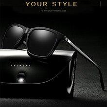 Marca de luxo polarizado óculos de sol homem 2021 tendência condução retângulo óculos de sol masculino popular retro óculos óculos de sol tons para homem