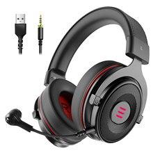 EKSA E900 Pro Virtual 7.1 gamingowy zestaw słuchawkowy słuchawki przewodowe zestaw słuchawkowy z redukcją szumów izolowany mikrofon na PS4/PC/ Xbox/telefon