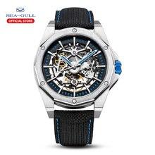 2020 neue Seagull Uhr Männer Automatische Mechanische Hohl Perspektive Mechanische Uhr Große Zifferblatt Wasserdicht Persönlichkeit Uhr