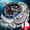 Seagull reloj para hombre Inter Milan Ocean Star 200 metros impermeable 2019 nuevo reloj mecánico automático de moda 816.22.6112