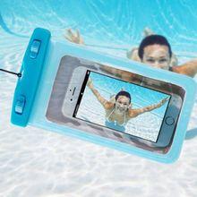 Сумки для плавания, Универсальный Водонепроницаемый Чехол для сотовых телефонов, чехол с клапаном, подводный сухой Чехол, аксессуары для бассейна